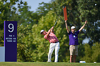 Mikumu Horikawa (JPN) watches his tee shot on 9 during round 4 of the WGC FedEx St. Jude Invitational, TPC Southwind, Memphis, Tennessee, USA. 7/28/2019.<br /> Picture Ken Murray / Golffile.ie<br /> <br /> All photo usage must carry mandatory copyright credit (© Golffile | Ken Murray)