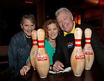 Jay Hammer - Liz Keifer - Jerry verDorn - Autism - 11th Annual Daytime Stars & Strikes Event for Autism - 2015 on April 19, 2015 hosted by Guiding Light's Jerry ver Dorn (& OLTL) and Liz Keifer at Bowlmor Lanes Times Square, New York City, New York. (Photos by Sue Coflin/Max Photos)