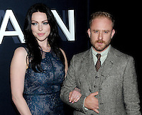 NEW YORK, NY - OCTOBER 04:  Actress Laura Prepon and Ben Foster attends 'The Girl On The Train' New York premiere at Regal E-Walk Stadium 13 on October 4, 2016 in New York City. Photo Credit: John Palmer/MediaPunch