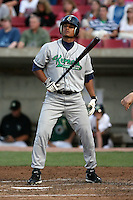 August 15 2008:  Carlos Colmenares (29) of the Cedar Rapids Kernels, Class-A affiliate of the Los Angeles Angels of Anaheim, during a game at Philip B. Elfstrom Stadium in Geneva, IL.  Photo by:  Mike Janes/Four Seam Images