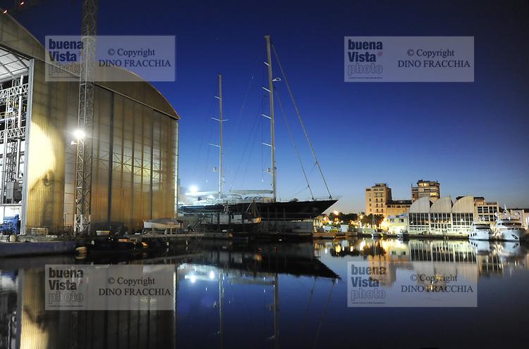 Viareggio: la fabbrica dei super-yacht