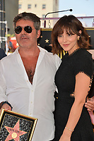 LOS ANGELES, CA. August 22, 2018: Simon Cowell & Katharine McPhee at the Hollywood Walk of Fame Star Ceremony honoring Simon Cowell.