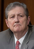 United States Senator John Kennedy (Republican of Louisiana) listens to the controversy prior to Judge Brett Kavanaugh giving testimony before the United States Senate Judiciary Committee on his nomination as Associate Justice of the US Supreme Court to replace the retiring Justice Anthony Kennedy on Capitol Hill in Washington, DC on Tuesday, September 4, 2018.<br /> Credit: Ron Sachs / CNP<br /> (RESTRICTION: NO New York or New Jersey Newspapers or newspapers within a 75 mile radius of New York City)