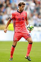 Real Sociedad's Xabi Prieto during La Liga match. September 10,2017.  *** Local Caption *** © pixathlon<br /> Contact: +49-40-22 63 02 60 , info@pixathlon.de