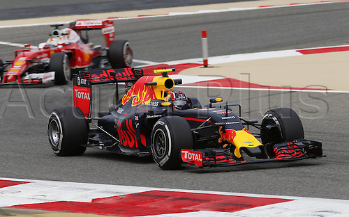 01.04.2016. Bahrain. FIA Formula One World Championship 2016, Grand Prix of Bahrain, Practise day. 26 Daniil Kvyat (RUS, Red Bull Racing)