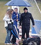 Hernan Pacheco sheltering under his big umbrella with rfc_dickson