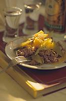"""Europe-Asie/Russie/Saint-Petersbourg: Restaurant """"Adamaht"""" - Boeuf Strogonof"""