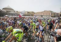 Giro d'Italia.stage 01 start.Napoli-Napoli: 130 km