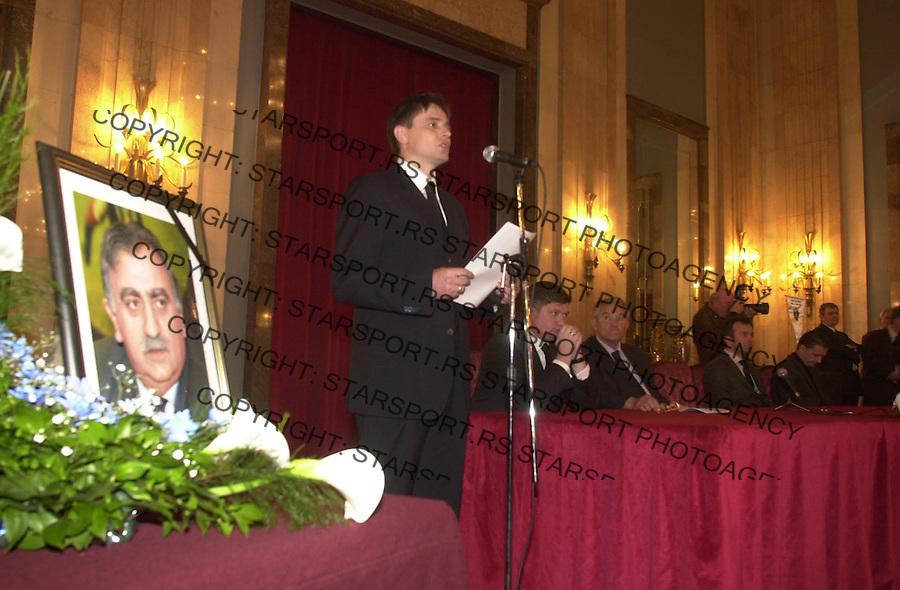 KOMEMORACIJA BRANKO BATA BULATOVIC &amp;#xA;&amp;#xA;29.03.2004. foto: Pedja Milosavljevic<br />