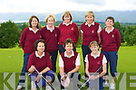 The Ballybunion team that played Ross in Killorglin golf course on Saturday front row l-r: Betty Doolan, Norma Mullane, Catherine Moylan. Back row: Patsy Gleeson, Rosalie O'Neill, Aideen O'Leary, Pauline O'Connor and Noirin Lynch