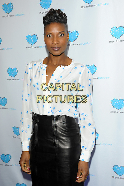 LONDON, UK - MARCH 03 - Denise Lewis attends a screening of 'A Home for Mirela' a documentary about Romanian orphans by Natalie Pinkham at Vue West End on March 3, 2014 in London, England.<br /> CAP/CJ<br /> &copy;Chris Joseph/Capital Pictures