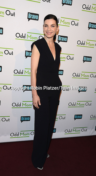 Julianna Margulies attend the &quot;Odd Mom Out&quot; Screening, which is Bravo's first scripted half-hour comedy from Jill Kargman,  on June 3, 2015 at Florence Gould Hall in New York City, New York, USA.<br /> <br /> photo by Robin Platzer/Twin Images<br />  <br /> phone number 212-935-0770