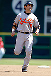 21 May 2006: Javy Lopez, catcher for the Baltimore Orioles, trots to third during a game against the Washington Nationals at RFK Stadium in Washington, DC. The Nationals defeated the Orioles 3-1 to take 2 of 3 games in their first inter-league series...Mandatory Photo Credit: Ed Wolfstein Photo..
