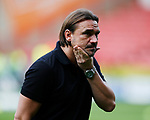 Daniel Farke manager of Norwich City during the Championship match at Bramall Lane Stadium, Sheffield. Picture date 16th September 2017. Picture credit should read: Simon Bellis/Sportimage