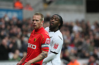 Pictured: Jason Scotland of Swansea City <br /> Re: Coca Cola Championship, Swansea City Football Club v Watford at the Liberty Stadium, Swansea, south Wales 09 November 2008.<br /> Picture by Dimitrios Legakis Photography (Athena Picture Agency), Swansea, 07815441513