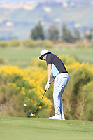 Ryan Evans (ENG) during the third round of the Rocco Forte Sicilian Open played at Verdura Resort, Agrigento, Sicily, Italy 12/05/2018.<br /> Picture: Golffile   Phil Inglis<br /> <br /> <br /> All photo usage must carry mandatory copyright credit (&copy; Golffile   Phil Inglis)