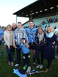 David Sheeran and family at the Colmcilles V Dunderry,  Meath Intermediate Final Replay at P&aacute;irc Tailteann, Navan.<br /> <br /> <br /> Photo - Jenny Matthews