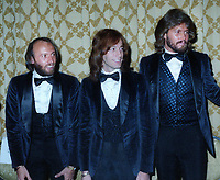 Maurice Gibb, Robin Gibb and Barry Gibb Barry Gibb at the American Music Awards n January 12, 1979<br />