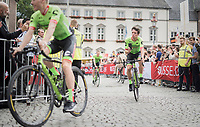 Rigoberto Uran (COL/Cannondale-Drapac)<br /> <br /> &quot;Le Grand D&eacute;part&quot; <br /> 104th Tour de France 2017 <br /> Team Presentation in D&uuml;sseldorf/Germany