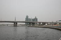 General Views of Dubai Creek, Dubai, United Arab Emirates from Festival City on 2.4.19.
