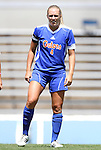 26 August 2012: Florida's McKenzie Barney. The University of Florida Gators defeated the Duke University Blue Devils 3-2 in overtime at Fetzer Field in Chapel Hill, North Carolina in a 2012 NCAA Division I Women's Soccer game.