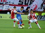 Bogotá- Independiente Santa Fe derrotó 4 goles por 1 a Millonarios, en el partido correspondiente a la novena fecha del Torneo Clausura 2014, desarrollado en el 13 de septiembre en el estadio Nemesio Camacho El Campín.
