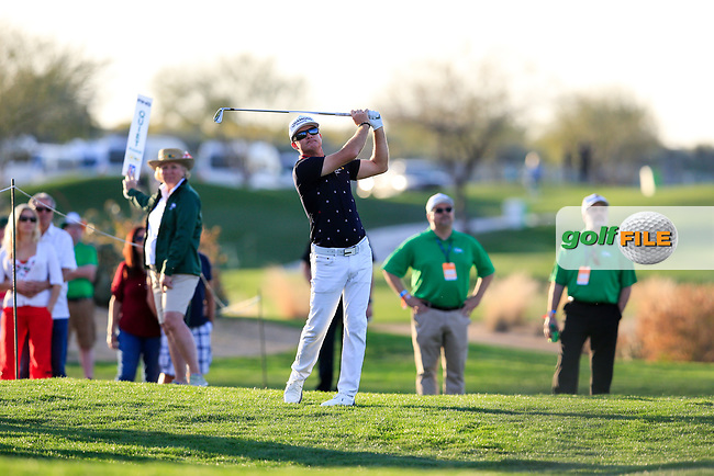 Brian Gay (USA) during the 2nd round of the Waste Management Phoenix Open, TPC Scottsdale, Scottsdale, Arisona, USA. 01/02/2019.<br /> Picture Fran Caffrey / Golffile.ie<br /> <br /> All photo usage must carry mandatory copyright credit (&copy; Golffile | Fran Caffrey)