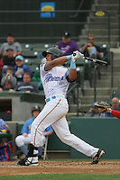 Myrtle Beach Pelicans catcher Jorge Alfaro #24 at bat during a game against the Salem Red Sox at Ticketreturn.com Field at Pelicans Ballpark on April 6, 2014 in Myrtle Beach, South Carolina. Salem defeated Myrtle Beach 3-0. (Robert Gurganus/Four Seam Images)