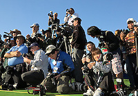 28 JAN 13  Photo corp led by PGA Tours Stan Badz during Monday's Final round of The Farmers Insurance Open at The Torrey Pines Golf Course in La Jolla, California.(photo:  kenneth e.dennis / kendennisphoto.com)