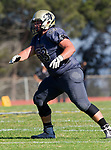 Palos Verdes, CA 09-07-18 - Zack Denny (Peninsula #53) in action during the Torrance - Palos Verdes Peninsula Varsity football game.