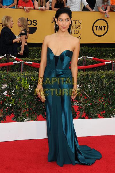 25 January 2015 - Los Angeles, California - Stephanie Beatriz. 21st Annual Screen Actors Guild Awards - Arrivals held at The Shrine Auditorium. <br /> CAP/ADM/BP<br /> &copy;BP/ADM/Capital Pictures
