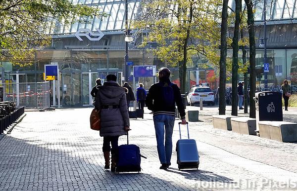 Nederland - Amsterdam - 2019. Stationsgebied bij Station Sloterdijk . Foto Berlinda van Dam / Hollandse Hoogte
