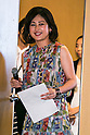 Kanako Sakai, ELLE Contents editor-in-chief attends the ''ELLE Women in Society'' event on July 13, 2015, Tokyo, Japan. The event promotes the working women's roll in Japanese society with various seminars where top businesswomen, musicians, writers and other international celebrities speak about the working women's roll in the world. By 2020 Prime Minister Shinzo Abe's administration aims to increase the percentage of women in leadership positions to 30% in Japan. (Photo by Rodrigo Reyes Marin/AFLO)