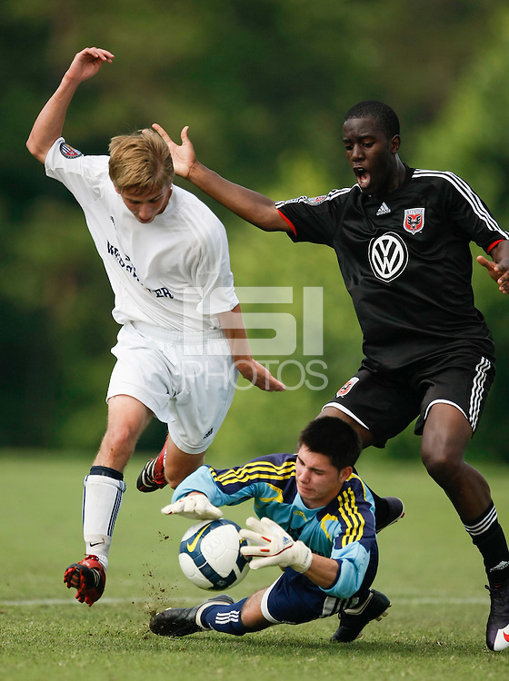 FC Westchester v D.C. United U-17/18. 2009 US Soccer Development Academy Summer Showcase at Bryan Park Soccer Complex in Browns Summit, North Carolina, on June 27, 2009.