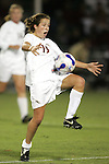 7 November 2007: Florida State's Amanda DaCosta. Florida State University defeated Boston College 1-0 at the Disney Wide World of Sports complex in Orlando, FL in an Atlantic Coast Conference tournament quarterfinal match.