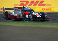 Sébastien Buemi (CHE), Kazuki Nakajima (JPN), Brendon Hartley (NZL) TOYOTA GAZOO RACING during the WEC 4HRS of SILVERSTONE at Silverstone Circuit, Towcester, England on 31 August 2019. Photo by Vince  Mignott.