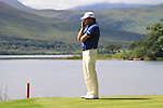 Graeme McDowell stands looking out over the lake on the 3rd tee during the first round of the 3 Irish Open, at the Killarney Golf and Fishing Club, Killarney, Ireland.Picture Fran Caffrey/www.golffile.ie.