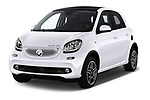 2018 Smart forfour Passion 5 Door Hatchback angular front stock photos of front three quarter view