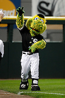 August 7, 2009:  White Sox mascot entertains the crowd during a game for the Chicago White Sox vs. the Cleveland Indians at U.S. Cellular Field in Chicago, IL.  The Indians defeated the White Sox 6-2.  Photo By Mike Janes/Four Seam Images