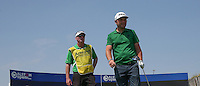 Watched by caddie Sean McDonagh, Andy Sullivan (ENG) plays to the third during thePro-Am of the 2015 Alstom Open de France, played at Le Golf National, Saint-Quentin-En-Yvelines, Paris, France. /01/07/2015/. Picture: Golffile | David Lloyd<br /> <br /> All photos usage must carry mandatory copyright credit (&copy; Golffile | David Lloyd)