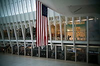 NEW YORK, NY - APRIL 20: Retail stores are seen shuttered inside the Oculus due to COVID-19 on April 20, 2020. in New York City. United States. U.S. President Trump is looking to get many Americans back to work as soon as possible, but also he recognizes that cities like New York will need to go slow. (Photo by Eduardo MunozAlvarez/VIEWpress)