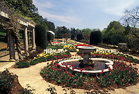 garden, Richmond, Virginia, VA, The Italian Gardens at Maymont House Estate.
