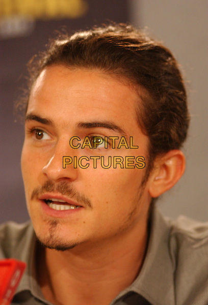 ORLANDO BLOOM.2005 Toronto Film Festival, Toronto, Ontario.September 11th, 2005.Photo Credit: George Shepherd/AdMedia.headshot portrait mustache goatee facial hair.www.capitalpictures.com.sales@capitalpictures.com.© Capital Pictures.