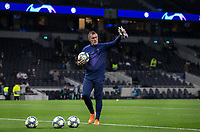 Spurs goalkeeping coach Antonio Jiménez Sistachs pre match during the UEFA Champions League group match between Tottenham Hotspur and Bayern Munich at Wembley Stadium, London, England on 1 October 2019. Photo by Andy Rowland.