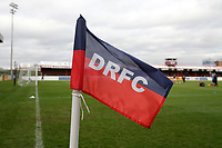 General view of the corner flag during Dagenham & Redbridge vs Maidenhead United, Vanarama National League Football at the Chigwell Construction Stadium on 7th December 2019
