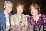 DANCE: Margaret Boyle, Kathleen Ambrose and Eileen Austin (Tralee) enjoying the Mike Denver Country and Western Dance in the Brandon Hoitel Conference Centre on Friday night
