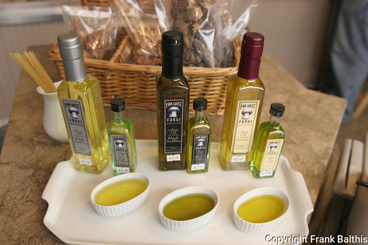 Olive oil at market in Ferry Building