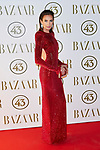 Nieves Alvarez attends to II Harper's Bazaar Actitud 43 awards at Gunilla Club in Madrid, Spain. October 17, 2018. (ALTERPHOTOS/A. Perez Meca)