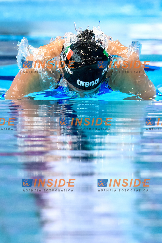 Silvia DI PIETRO ITA <br /> 100m Butterfly Women Preliminary<br /> London, Queen Elizabeth II Olympic Park Pool <br /> LEN 2016 European Aquatics Elite Championships <br /> Swimming<br /> Day 11 19-05-2016<br /> Photo Andrea Staccioli/Deepbluemedia/Insidefoto