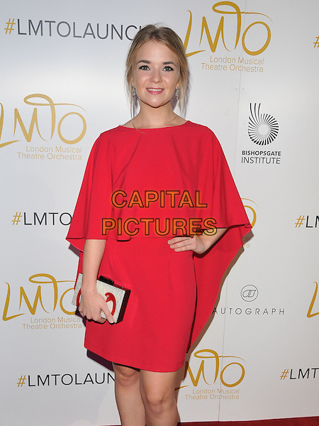 Lorna Fitzgerald at the London Musical Theatre Orchestra Gala &amp; season launch, The Bishopsgate Institute, Bishopsgate, London, England, UK, on Tuesday 28 June 2016.<br /> CAP/CAN<br /> &copy;CAN/Capital Pictures